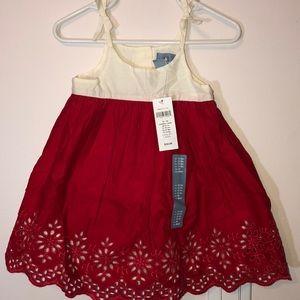 Baby Gap scalloped trim dress 12-18m